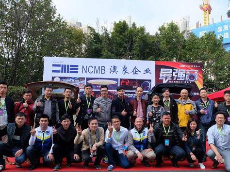 澳良企业MECA深圳展十车展示最强音