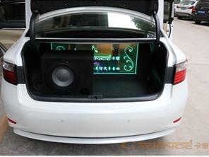 实用型汽车音响改装卡顿