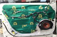 丰田塞纳改装妃仕PE170P 能媲美超低音的分频套装低频究竟有多强