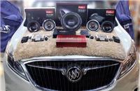 别克GL8汽车音响改装芬朗 精准定位享受天籁好声音