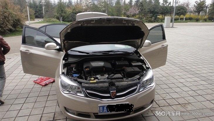 荣威350全车隔音高清图片