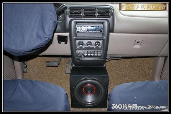 常州道声汽车音响改装 别克GL8高清图片
