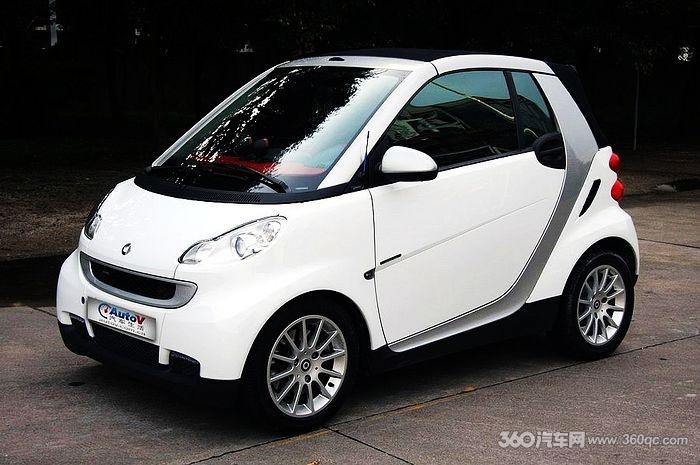 小精灵奔驰Smart汽车音响改装高清图片