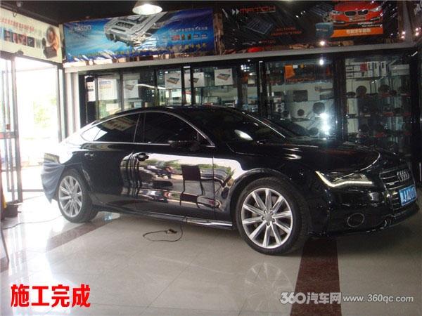 专业奥迪A7音响改装 西安上尚汽车音响高清图片