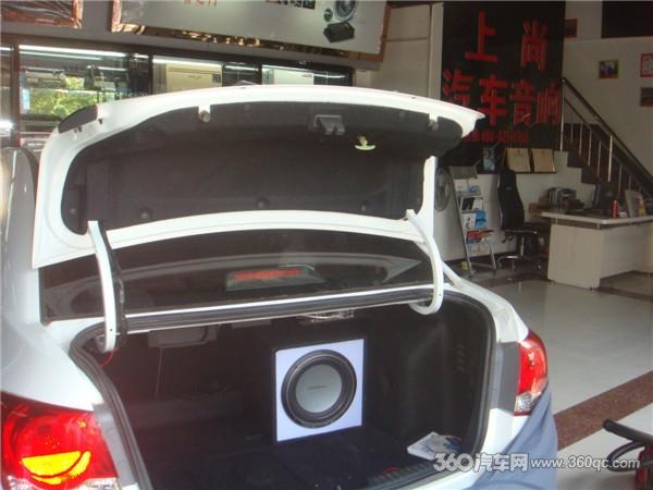雪佛兰科鲁兹音响改装 陕西西安上尚汽车音响高清图片