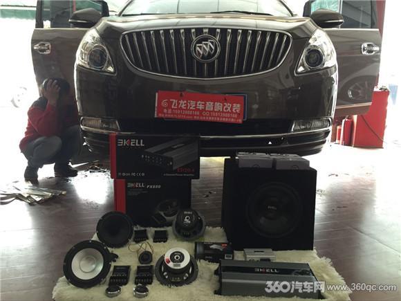 别克GL8音响升级,改装美国霸克汽车音响-知足才常乐 别克GL8改装高清图片