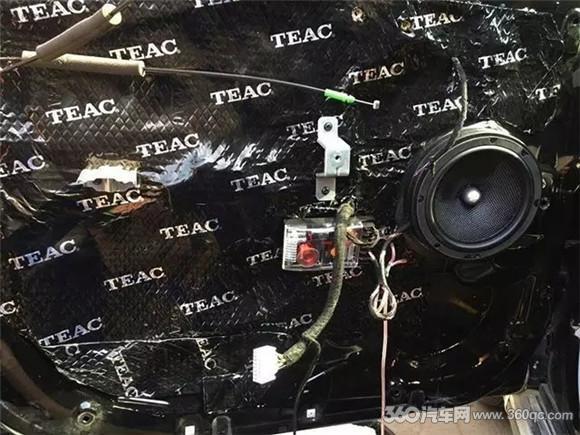 音响改装已成时尚风潮 瑞风S3改装惠威汽车音响高清图片