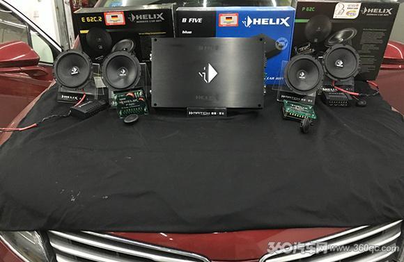 林肯MKC改装-林肯MKC解决音质问题 喜力仕这套搭配我给十个赞