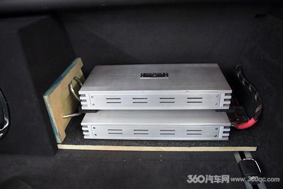 芬尼120.4功放-尊享高品质车生活 奥迪A6升级RS贵族三分频喇叭