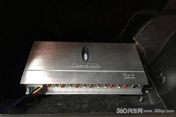 -i8处理器的接线安装-完美到极致的音乐体验 奥迪A6改装歌剧世家 德高清图片