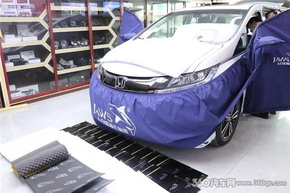 [精彩]本田奥德赛改装大白鲨汽车隔音这才是MPV车型该有的安静享受
